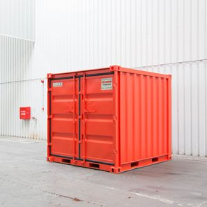 Zee container opslag